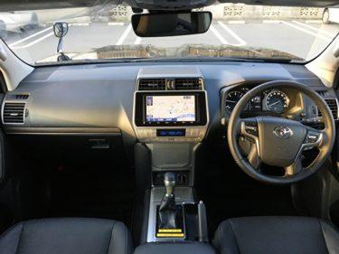 トヨタ 新型プラドTX試乗しました!【ラダーフレームの実力は?】 内装・試乗編