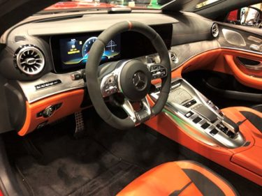 「内装はラグジュアリーサルーン!」メルセデス・AMG GT 63S 4MATIC+見てきました! 内装編