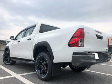 【国産唯一のピックアップトラック】トヨタ ハイラックス Z Black RallyEdition 内装・試乗レビュー